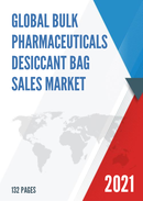 Global Bulk Pharmaceuticals Desiccant Bag Sales Market Report 2021