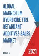 Global Magnesium Hydroxide Fire Retardant Additives Sales Market Report 2021