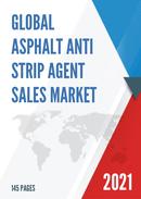 Global Asphalt Anti Strip Agent Sales Market Report 2021