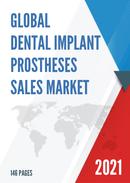 Global Dental Implant Prostheses Sales Market Report 2021