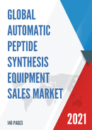Global Automatic Peptide Synthesis Equipment Sales Market Report 2021