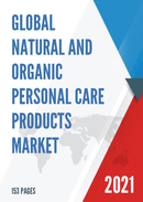 Global Natural and Organic Personal Care Products Market Insights and Forecast to 2027