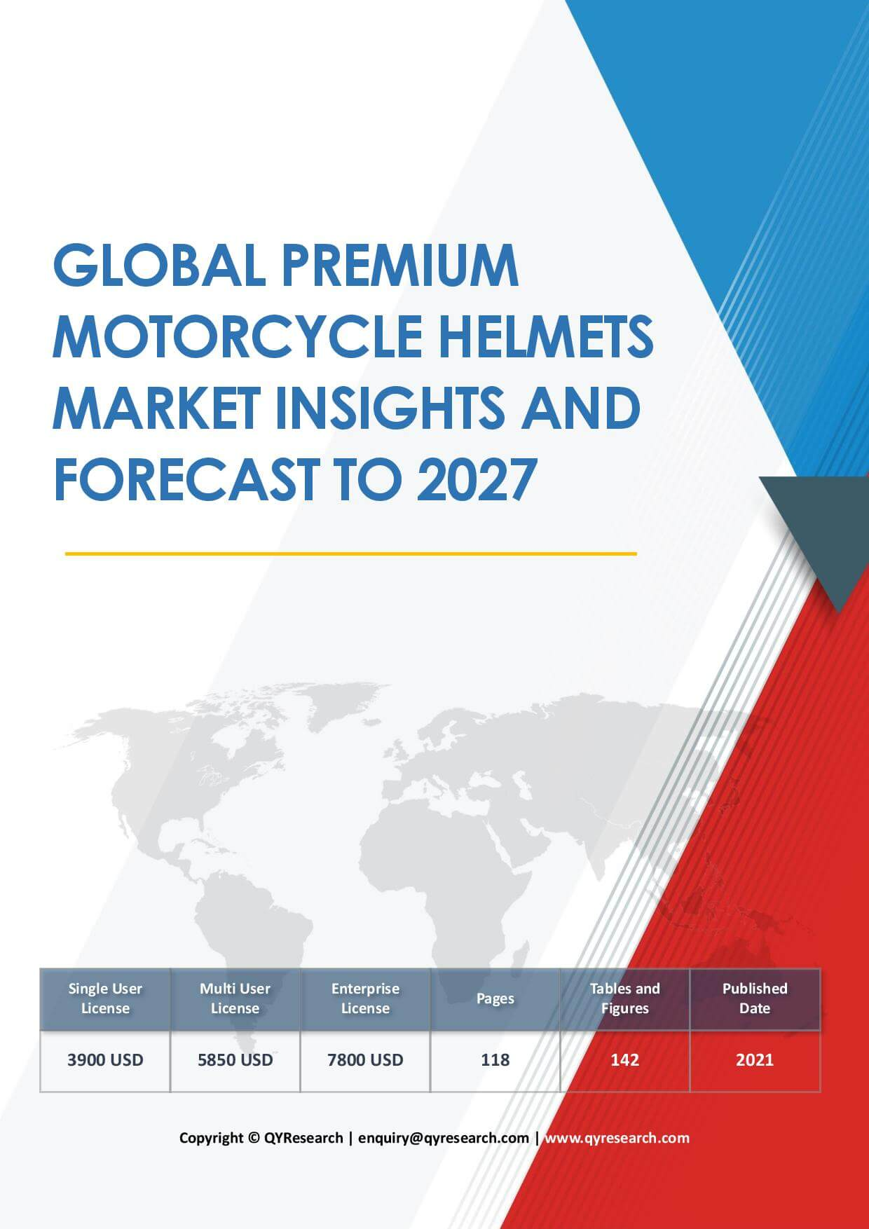 Global Premium Motorcycle Helmets Market Insights and Forecast to 2027