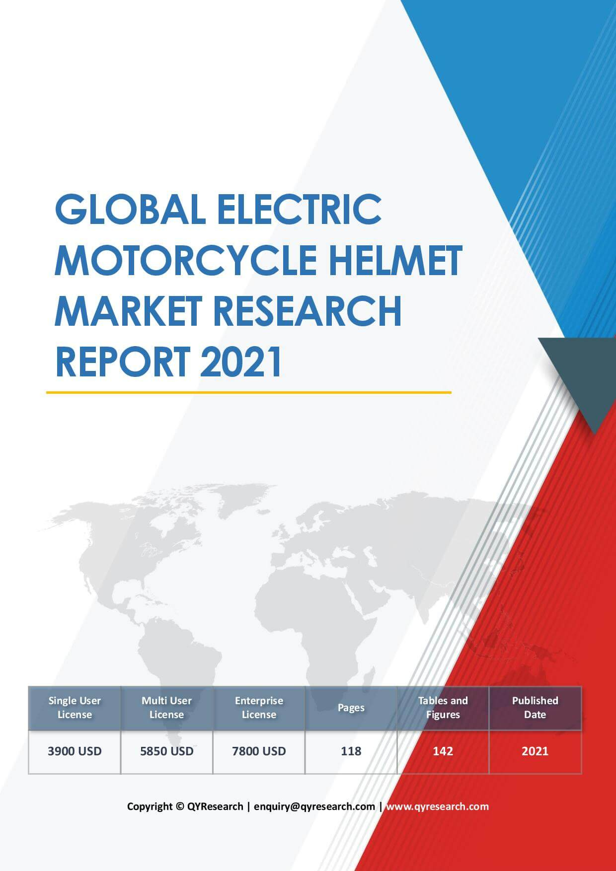 Global Electric Motorcycle Helmet Market Research Report 2021