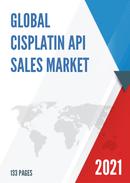 Global Cisplatin API Sales Market Report 2021