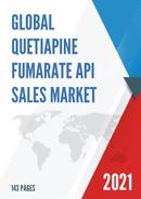 Global Quetiapine Fumarate API Sales Market Report 2021