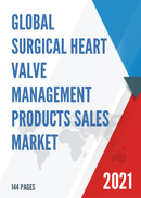 Global Surgical Heart Valve Management Products Sales Market Report 2021