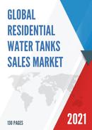 Global Residential Water Tanks Sales Market Report 2021