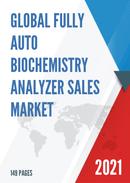Global Fully Auto Biochemistry Analyzer Sales Market Report 2021