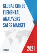 Global CHNSO Elemental Analyzers Sales Market Report 2021