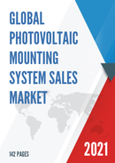 Global Photovoltaic Mounting System Sales Market Report 2021