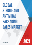 Global Sterile and Antiviral Packaging Sales Market Report 2021