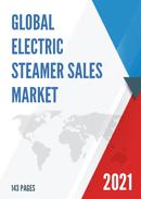 Global Electric Steamer Sales Market Report 2021