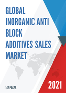 Global Inorganic Anti block Additives Sales Market Report 2021