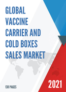 Global Vaccine Carrier and Cold Boxes Sales Market Report 2021