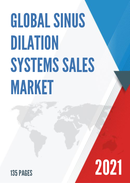 Global Sinus Dilation Systems Sales Market Report 2021