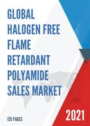 Global Halogen free Flame Retardant Polyamide Sales Market Report 2021