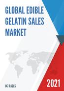 Global Edible Gelatin Sales Market Report 2021