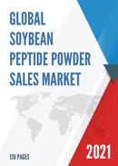 Global Soybean Peptide Powder Sales Market Report 2021