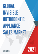 Global Invisible Orthodontic Appliance Sales Market Report 2021