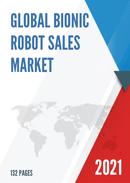 Global Bionic Robot Sales Market Report 2021