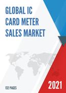 Global IC Card Meter Sales Market Report 2021