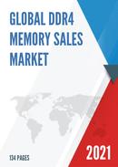 Global DDR4 Memory Sales Market Report 2021