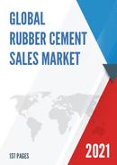 Global Rubber Cement Sales Market Report 2021