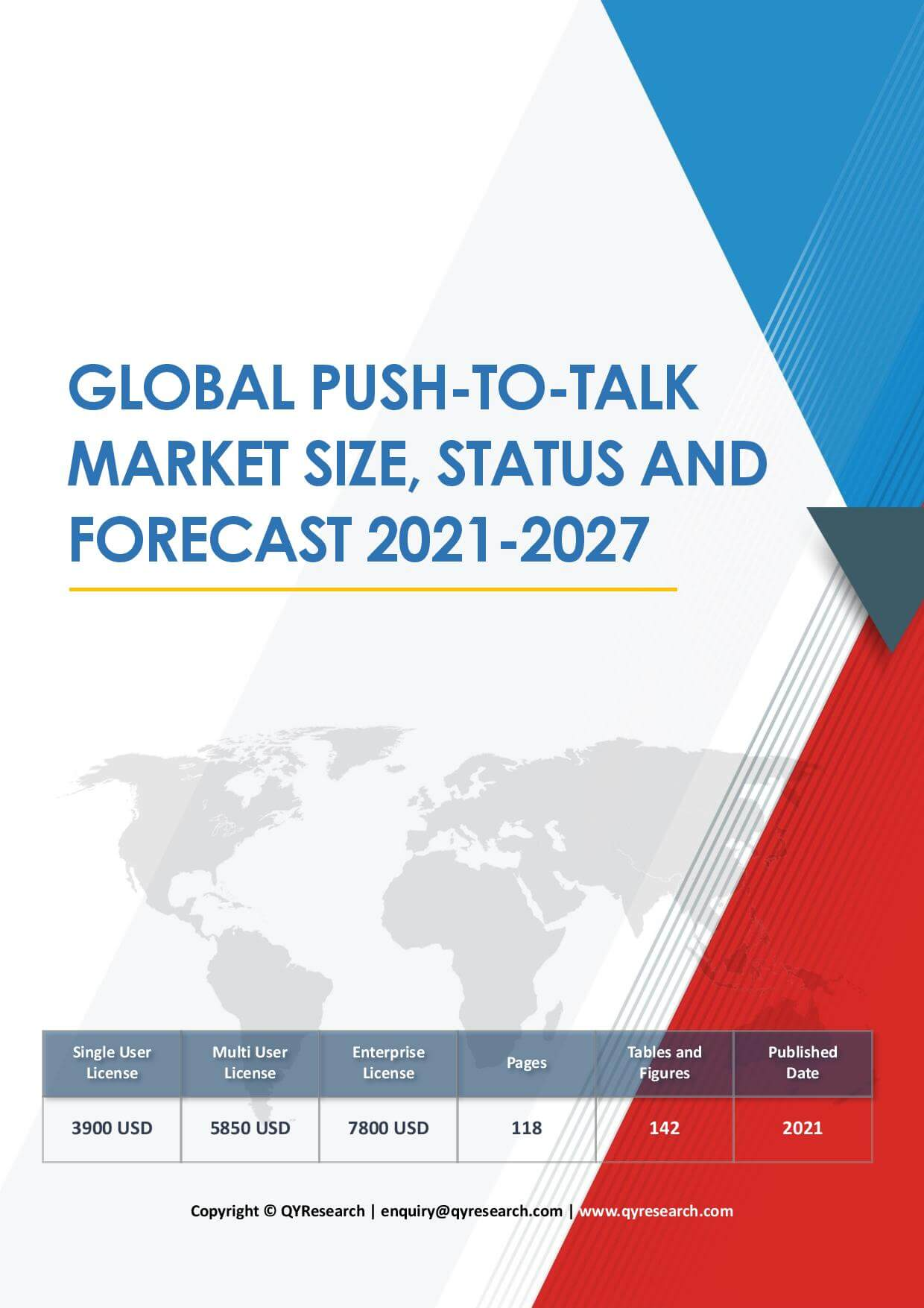 Global Push To Talk Market Size Status and Forecast 2019 2025