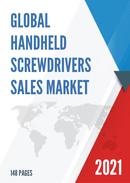 Global Handheld Screwdrivers Sales Market Report 2021