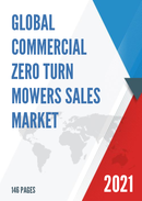 Global Commercial Zero Turn Mowers Sales Market Report 2021