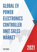 Global EV Power Electronics Controller Unit Sales Market Report 2021