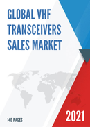 Global VHF Transceivers Sales Market Report 2021