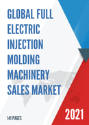 Global Full Electric Injection Molding Machinery Sales Market Report 2021
