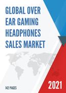 Global Over ear Gaming Headphones Sales Market Report 2021