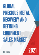 Global Precious Metal Recovery and Refining Equipment Sales Market Report 2021
