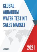 Global Aquarium Water Test Kit Sales Market Report 2021