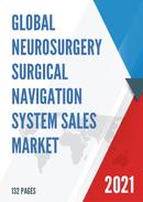 Global Neurosurgery Surgical Navigation System Sales Market Report 2021