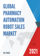 Global Pharmacy Automation Robot Sales Market Report 2021
