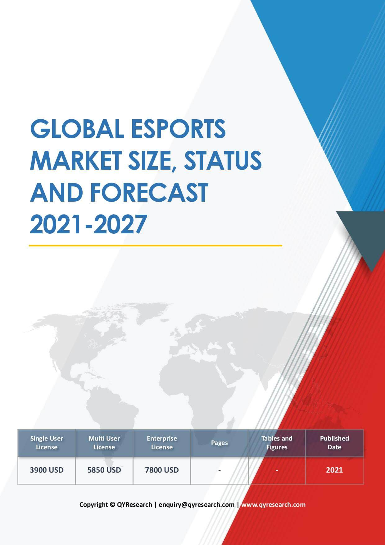 Global E Sports Market Size Status and Forecast 2020 2026
