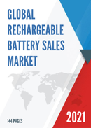 Global Rechargeable Battery Sales Market Report 2021