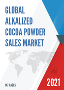 Global Alkalized Cocoa Powder Sales Market Report 2021