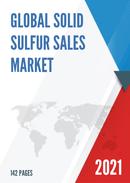 Global Solid Sulfur Sales Market Report 2021