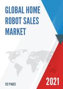 Global Home Robot Sales Market Report 2021
