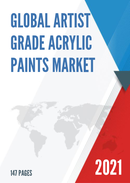Global Artist Grade Acrylic Paints Market Insights and Forecast to 2027