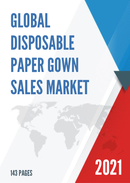 Global Disposable Paper Gown Sales Market Report 2021