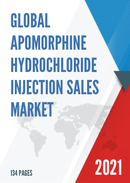 Global Apomorphine Hydrochloride Injection Sales Market Report 2021