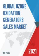 Global Ozone Oxidation Generators Sales Market Report 2021