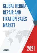 Global Hernia Repair and Fixation Sales Market Report 2021