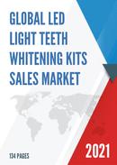 Global LED Light Teeth Whitening Kits Sales Market Report 2021